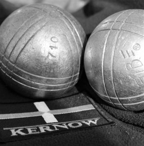 Kernow Flag and Boules